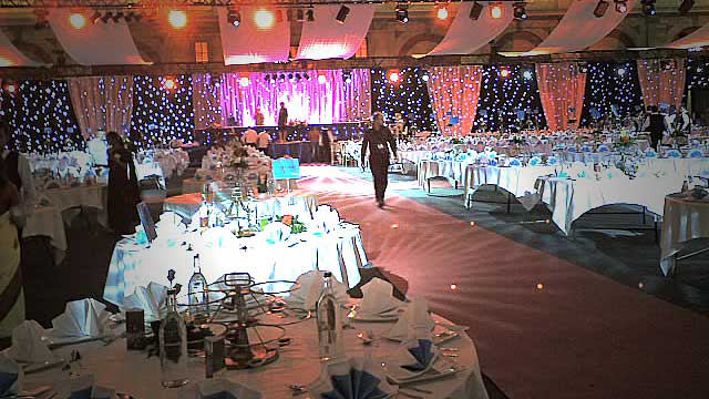 Starcloth Wedding Installation For Alexandra Palace 2006